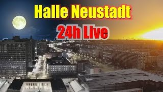 Live Cam East Germany - Halle Neustadt - HD Streaming Webcam City