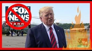 WHOA: Trump TRASHES Fox News, Makes 2020 Debate Warning