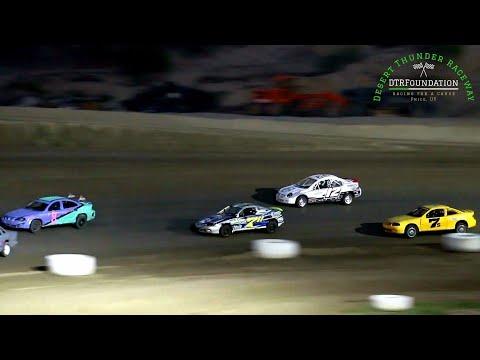 Desert Thunder Raceway Sport Mini Bomber Main Event 8/7/21 - dirt track racing video image