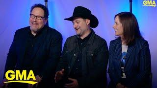 Cast and creators behind Disney+'s 'The Mandalorian' discuss the anticipated series