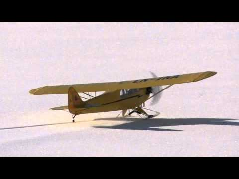 Rc Giant Cub J3 - Jonny's Winter Flight - UCz3LjbB8ECrHr5_gy3MHnFw