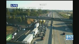 Multi-Vehicle Crash On I-80 Causes Delays