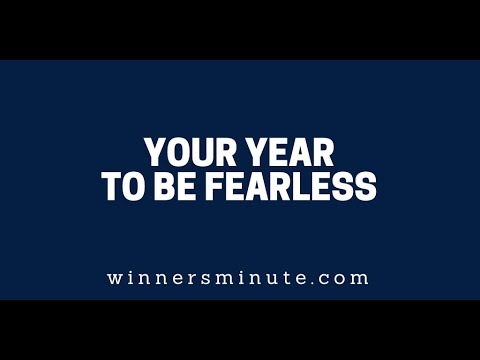 Your Year to Be Fearless  The Winner's Minute With Mac Hammond