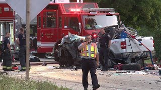 Crash on Highway 145 in Germantown