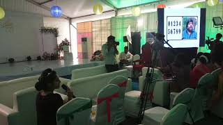 Conducting funny connection rounds at 75th birthday party Chennai MCs