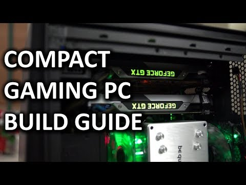 """ULTIMATE Intel Compact SLI Gaming PC Computer """"How To"""" Build Guide - UCXuqSBlHAE6Xw-yeJA0Tunw"""