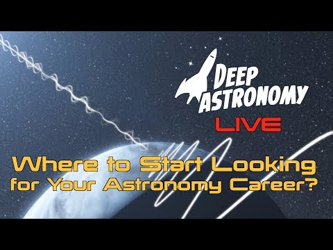 Live Vlog: Where to Start Your Search for your Astronomy Career - UCQkLvACGWo8IlY1-WKfPp6g