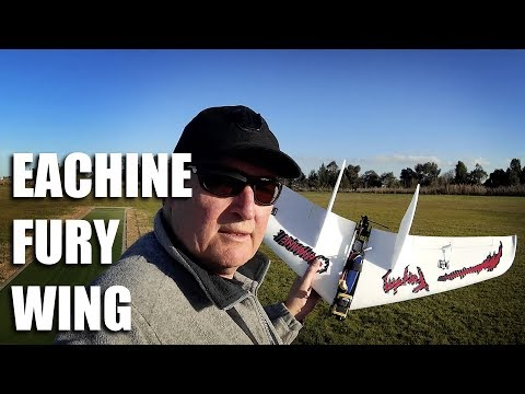 Eachine Fury Wing - Build and maiden - UC2QTy9BHei7SbeBRq59V66Q