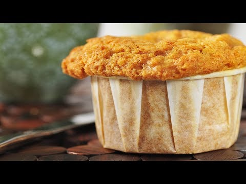 Carrot Muffins Recipe Demonstration - Joyofbaking.com
