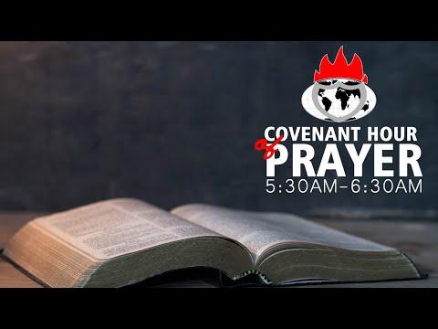 COVENANT HOUR OF PRAYER  23, AUGUST  2021 FAITH TABERNACLE