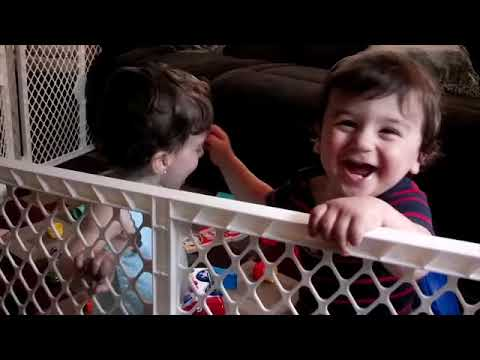 Funniest Twins Babies Playing Together Moments   Cute Twins Baby Video