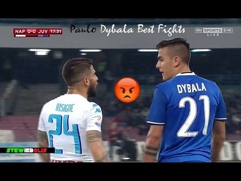 Paulo Dybala ● Best Fights & Angry Moments Ever! ● 1080i HD #Dybala #Juventus - UC7alpvCechFoofelHM-GfHQ