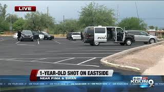 Police: 1-year-old shot, severely injured in Tucson