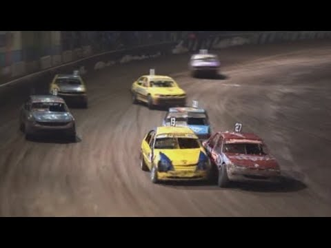 2007/08 National Modified Production Title (Night 1): Maryborough Speedway   22nd March 2008 - dirt track racing video image