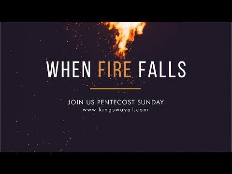 When Fire Falls  Pentecost Sunday @ 10am // On-site & Online