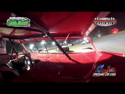 #19 Kenny Shelton - Cash Money Late Model - 8-14-2021 Springfield Raceway - In Car Camera - dirt track racing video image