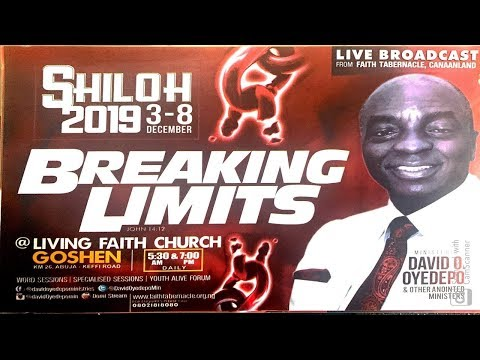 DAY 6: SHILOH 2019 SPECIAL THANKSGIVING (1ST SERVICE)  DECEMBER 08, 2019