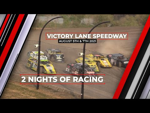 August 5th and 7th 2021, LIVE on Pay-Per-View from Victory Lane Speedway - dirt track racing video image