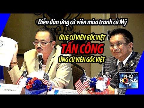 Diễn đàn ứng cử viên mùa tranh cử Mỹ: ƯCV gốc Việt tấn công ƯCV gốc Việt