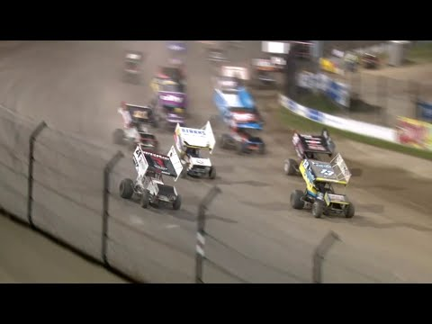 Highlights: ASCoC @ Eldora Speedway 4-Crown 9.25.2021 - dirt track racing video image