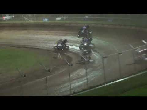 WoO Sprint Feature - Cedar Lake Speedway 07/02/2021 - dirt track racing video image