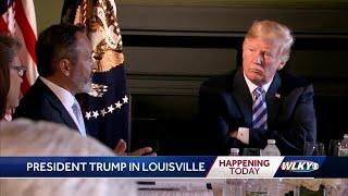 Louisville preparing for arrival of President Donald Trump