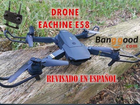 EACHINE E58 EN ESPAÑOL, DRONE PLEGABLE. UNBOXING Y REVISADO A FONDO. Mini CLONE DJI MAVIC - UCJd2WVXTQ9Wd0MquNC3ElNg