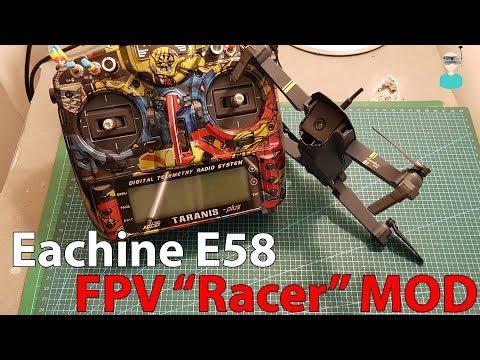 "Eachine E58 - FPV ""Racer"" MOD - UCOs-AacDIQvk6oxTfv2LtGA"