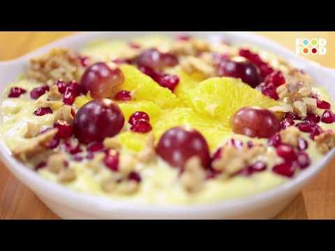 Kalakand Fruit Custard | Turban Tadka | Chef Harpal Singh Sokhi | FoodFood - UCthIcpK06l9bhi9ISgreocw