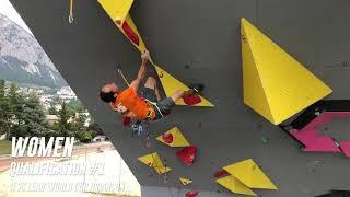 Qualifications womens - IFSC Climbing world cup - lead - Briançon 2019