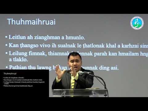 SERMON- Peknak 2  ZIANGKIM PATHIAN TA ASI BY Pastor Isaac Mang