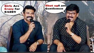 Chiranjeevi & Ram Charan Back 2 Back FUNNY Hilarious Moments Wid @Sye Raa Narasimha Reddy Teaser