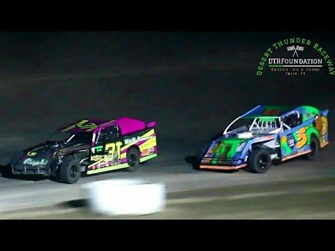 Desert Thunder Raceway IMCA Northern SportMod Main Event 8/7/21 - dirt track racing video image