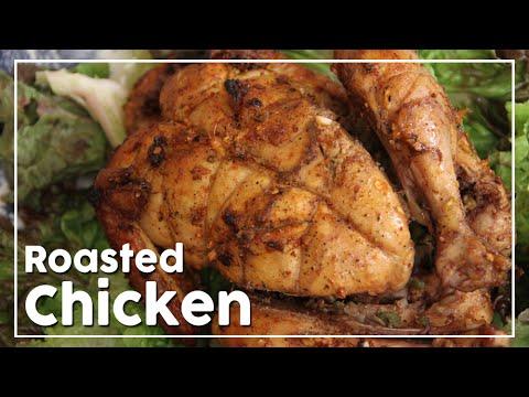 Perfect Homemade Roast Chicken - Family Dinner Recipe - My Recipe Book By Tarika Singh