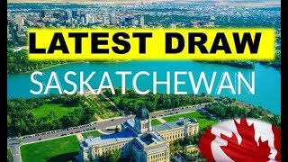 Saskatchewan LATEST DRAW FOR CANADA PR 2019