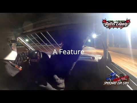 #95 Cal Mckeegan - 4 Cyclinder - 8-13-2021 Dallas County Speedway - In Car Camera - dirt track racing video image
