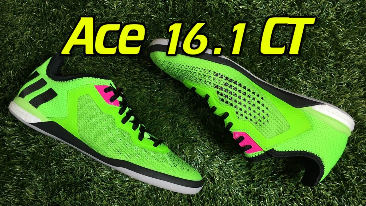 e0aa5c3e7 Adidas ACE 16.1 CT Boost Indoor Solar Green - Review + On Feet ...