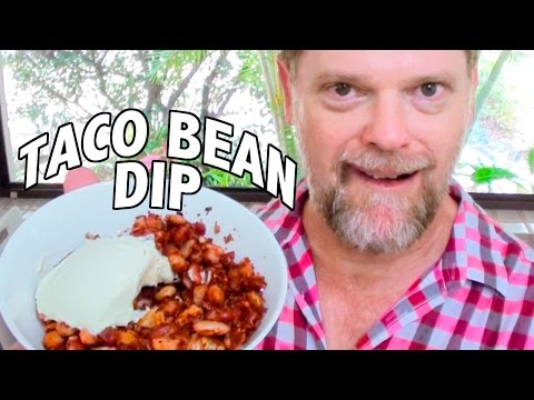 TACO BEAN DIP - Subscriber Recipe - Greg's Kitchen - UCGXHiIMcPZ9IQNwmJOv12dQ