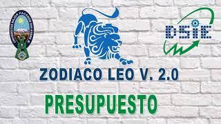 SISTEMA DE GESTIÓN DE POA Y PRESUPUESTO 2020 – ZODIACO 2.0