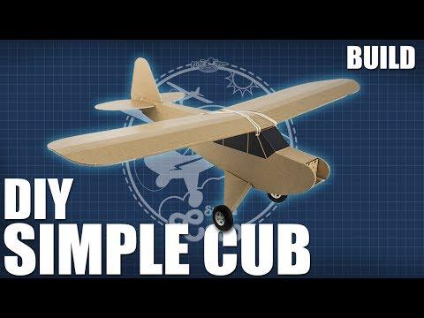 DIY FT Simple Cub - Build   Flite Test - UC9zTuyWffK9ckEz1216noAw