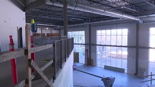 Great Falls High School construction closer to completion