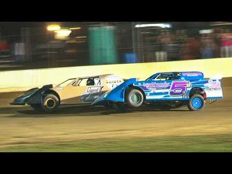 The Pro Stock Feature at Stateline Speedway (Busti, NY) on Saturday, June 29th, 2019! - dirt track racing video image