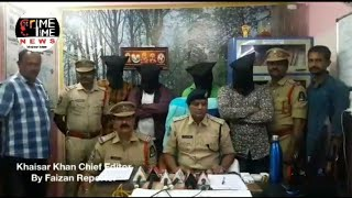 4 PERSONS WHO ARE INVOLVED IN ATTEMPT TO MURDER WERE ARRESTED BY CHANDRAYANGUTTA POLICE