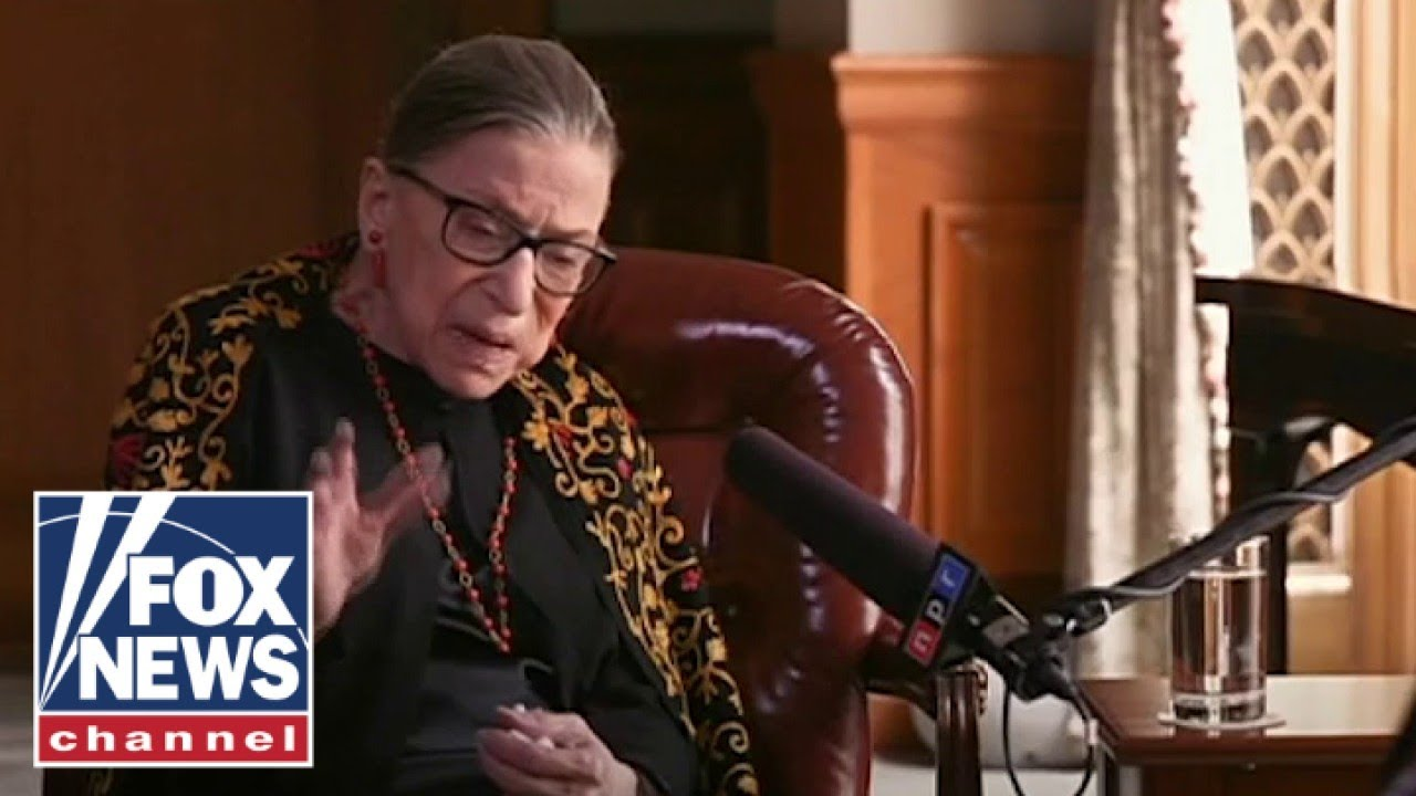 Watch Ruth Bader Ginsburg oppose court packing in past interview | Flashback