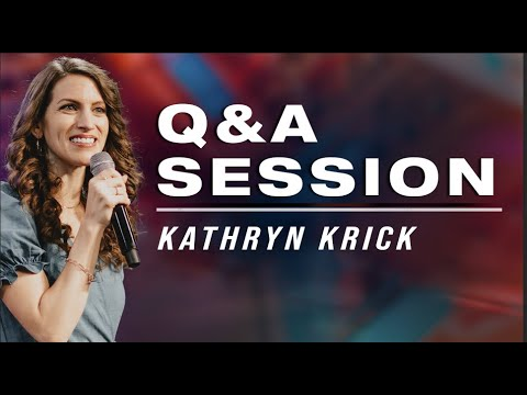 Women In Ministry? And Other Questions  @Apostle Kathryn Krick