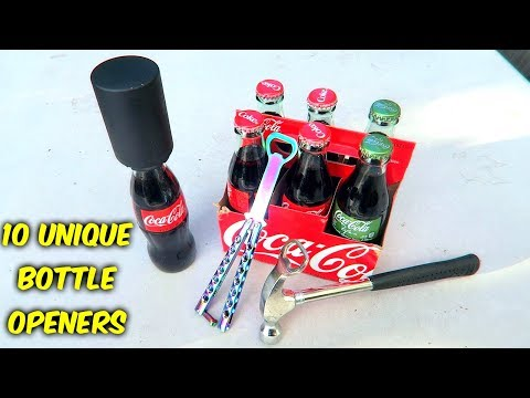 10 Weird Bottle Openers put to the Test - UCe_vXdMrHHseZ_esYUskSBw