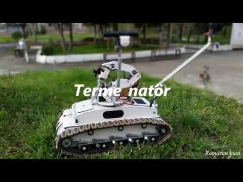 IHA Destekli Bomba İmha Robotu