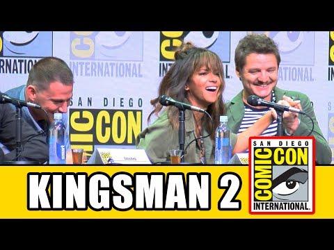 KINGSMAN THE GOLDEN CIRCLE Comic Con - Taron Egerton, Halle Berry, Channing Tatum - UCS5C4dC1Vc3EzgeDO-Wu3Mg