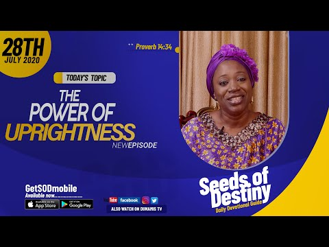 Dr Becky Paul-Enenche - SEEDS OF DESTINY - TUESDAY JULY 28, 2020
