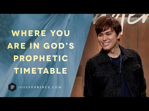 Where You Are In God's Prophetic Timetable  Joseph Prince